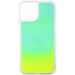 ETUI LIQUID NEON NA TELEFON APPLE IPHONE 11 PRO ZIELONY