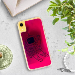 ETUI LIQUID NEON NA TELEFON APPLE IPHONE XR RÓŻOWY ST_SAND-2020-1-100