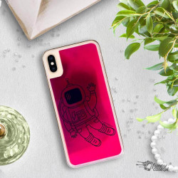ETUI LIQUID NEON NA TELEFON APPLE IPHONE XS MAX RÓŻOWY ST_SAND-2020-1-100