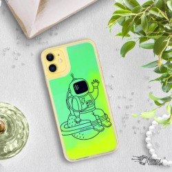 ETUI LIQUID NEON NA TELEFON APPLE IPHONE 11 ZIELONY ST_SAND-2020-1-104