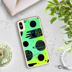 ETUI LIQUID NEON NA TELEFON APPLE IPHONE XS MAX ZIELONY ST_SAND-2020-1-104
