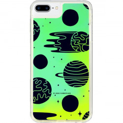 ETUI LIQUID NEON NA TELEFON APPLE IPHONE 7 PLUS / 8 PLUS ZIELONY ST_SAND-2020-1-104