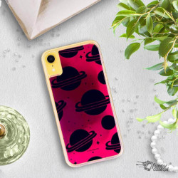 ETUI LIQUID NEON NA TELEFON APPLE IPHONE XR RÓŻOWY ST_SAND-2020-1-101