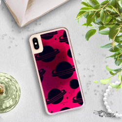 ETUI LIQUID NEON NA TELEFON APPLE IPHONE XS MAX RÓŻOWY ST_SAND-2020-1-101