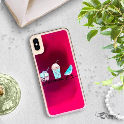ETUI LIQUID NEON NA TELEFON APPLE IPHONE XS MAX RÓŻOWY ST_SAND-2020-1-102