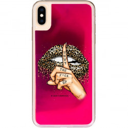 ETUI LIQUID NEON NA TELEFON APPLE IPHONE XS MAX RÓŻOWY ST_SAND-2020-1-103