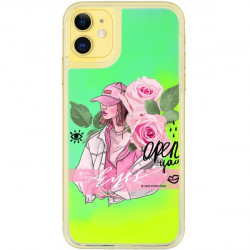 ETUI LIQUID NEON NA TELEFON APPLE IPHONE 11 ZIELONY ST_SAND-2020-1-107