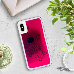 ETUI LIQUID NEON NA TELEFON APPLE IPHONE X / XS RÓŻOWY ST_SAND-2020-1-100