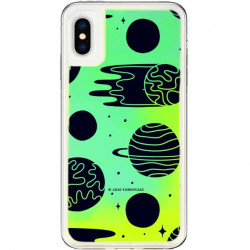 ETUI LIQUID NEON NA TELEFON APPLE IPHONE X / XS ZIELONY ST_SAND-2020-1-104