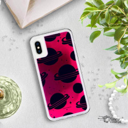 ETUI LIQUID NEON NA TELEFON APPLE IPHONE X / XS RÓŻOWY ST_SAND-2020-1-101
