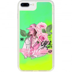 ETUI LIQUID NEON NA TELEFON APPLE IPHONE 7 PLUS / 8 PLUS ZIELONY ST_SAND-2020-1-107