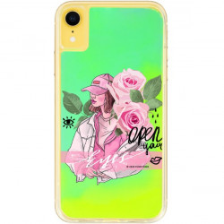 ETUI LIQUID NEON NA TELEFON APPLE IPHONE XR ZIELONY ST_SAND-2020-1-107