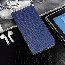 ETUI BOOK MAGNET NA TELEFONLG K41S GRANATOWY