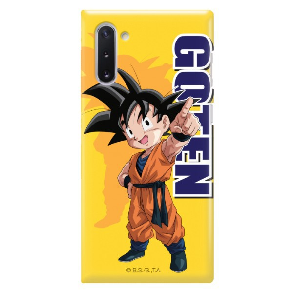 ETUI SMOOTH DRAGON BALL NA TELEFON SAMSUNG GALAXY NOTE 10 DBS-4
