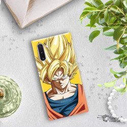 ETUI SMOOTH DRAGON BALL NA TELEFON SAMSUNG GALAXY NOTE 10 DBZ-14