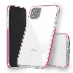 "ETUI SUMMER CASE IPHONE 11 6.1"" MALINOWY"