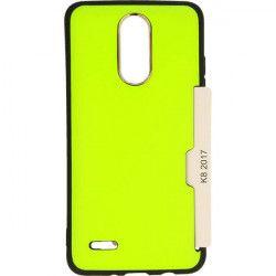 ETUI CARD CASE LG K8 2017 M200N DUAL LIMONKA