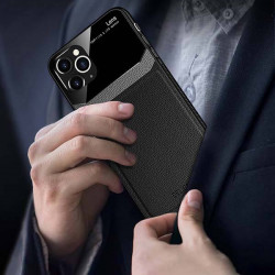 ETUI SKÓRZANE DELICATE NA TELEFON HUAWEI P40 CZARNY