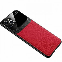 ETUI SKÓRZANE DELICATE NA TELEFON APPLE IPHONE 11 CZERWONY