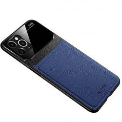 ETUI SKÓRZANE DELICATE NA TELEFON APPLE IPHONE 11 GRANATOWY