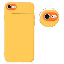 ETUI GUMA SMOOTH PROTECT NA TELEFON APPLE IPHONE 7 / 8 POMARAŃCZOWY