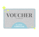VOUCHER GIFT CARD TRZY ETUI 3X ETUI