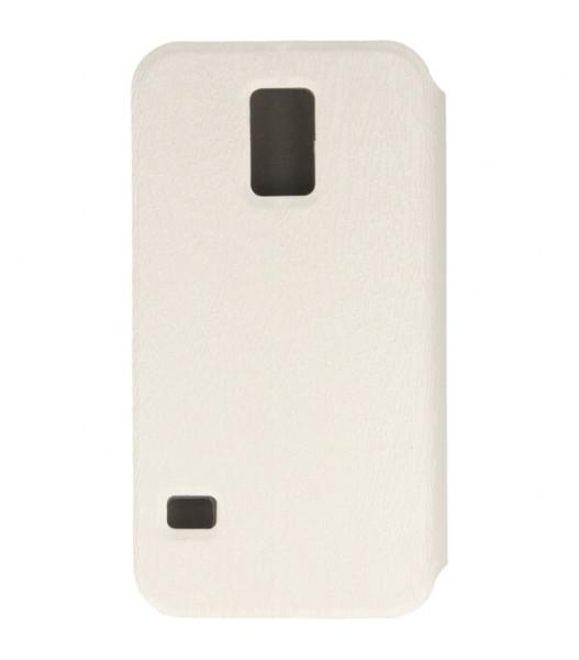 FLIP BOOK ETUI NA TELEFON SAMSUNG GALAXY S5 G900 I9600 BIAŁY