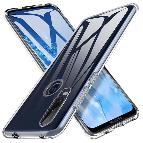 ETUI PROTECT CASE 2mm NA TELEFON MOTOROLA MOTO ONE ACTION TRANSPARENTNY