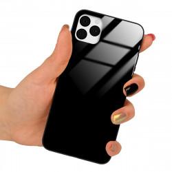 ETUI BLACK CASE GLASS NA TELEFON SAMSUNG REDMI NOTE 8 CZARNY
