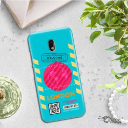 ETUI CLEAR NA TELEFON NOKIA 2.2 BOARDING-CARD2020-1-106