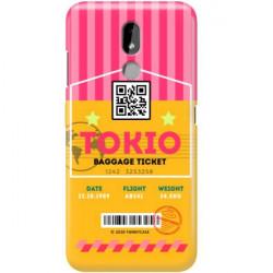 ETUI CLEAR NA TELEFON NOKIA 3.2 BOARDING-CARD2020-1-107