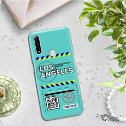 ETUI CLEAR NA TELEFON OPPO A8 / A31 2020 BOARDING-CARD2020-1-103