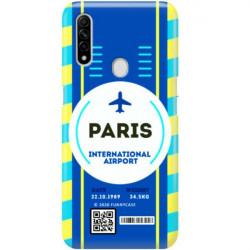 ETUI CLEAR NA TELEFON OPPO A8 / A31 2020 BOARDING-CARD2020-1-105