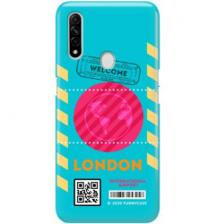 ETUI CLEAR NA TELEFON OPPO A8 / A31 2020 BOARDING-CARD2020-1-106
