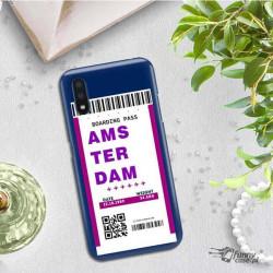 ETUI CLEAR NA TELEFON SAMSUNG GALAXY A01 BOARDING-CARD2020-1-101