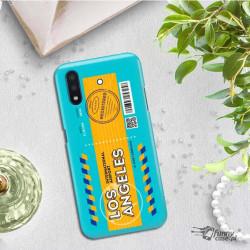 ETUI CLEAR NA TELEFON SAMSUNG GALAXY A01 BOARDING-CARD2020-1-104