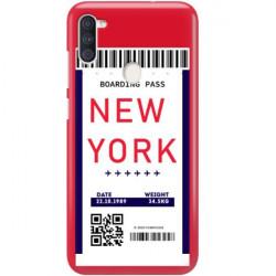 ETUI CLEAR NA TELEFON SAMSUNG GALAXY A11 BOARDING-CARD2020-1-100