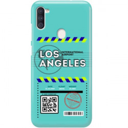 ETUI CLEAR NA TELEFON SAMSUNG GALAXY A11 BOARDING-CARD2020-1-103