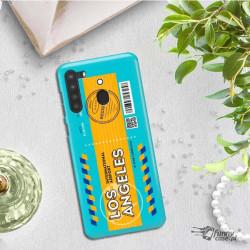 ETUI CLEAR NA TELEFON SAMSUNG GALAXY A21 BOARDING-CARD2020-1-104