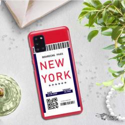 ETUI CLEAR NA TELEFON SAMSUNG GALAXY A31 BOARDING-CARD2020-1-100