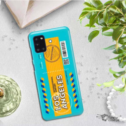 ETUI CLEAR NA TELEFON SAMSUNG GALAXY A31 BOARDING-CARD2020-1-104