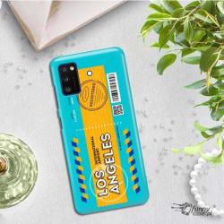 ETUI CLEAR NA TELEFON SAMSUNG GALAXY A41 BOARDING-CARD2020-1-104