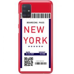 ETUI CLEAR NA TELEFON SAMSUNG GALAXY A51 5G BOARDING-CARD2020-1-100