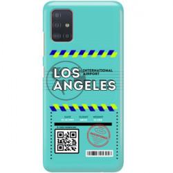 ETUI CLEAR NA TELEFON SAMSUNG GALAXY A51 5G BOARDING-CARD2020-1-103