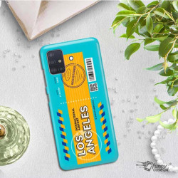 ETUI CLEAR NA TELEFON SAMSUNG GALAXY A51 5G BOARDING-CARD2020-1-104