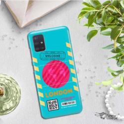 ETUI CLEAR NA TELEFON SAMSUNG GALAXY A51 5G BOARDING-CARD2020-1-106