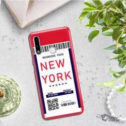ETUI CLEAR NA TELEFON SAMSUNG GALAXY A70E BOARDING-CARD2020-1-100