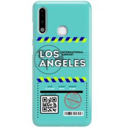 ETUI CLEAR NA TELEFON SAMSUNG GALAXY A70E BOARDING-CARD2020-1-103