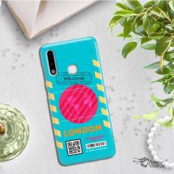 ETUI CLEAR NA TELEFON SAMSUNG GALAXY A70E BOARDING-CARD2020-1-106