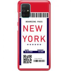 ETUI CLEAR NA TELEFON SAMSUNG GALAXY A71 5G BOARDING-CARD2020-1-100